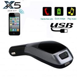 Bluetooth FM трансмитер за кола