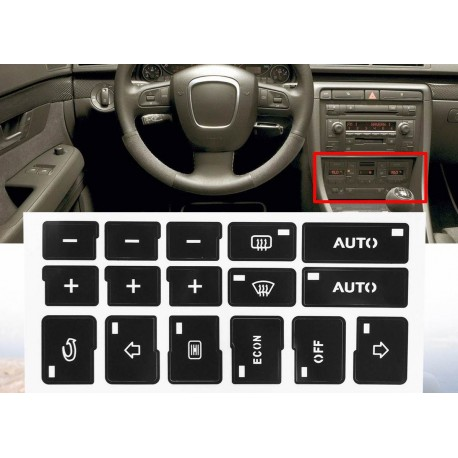 Комплект реставриране на бутони Audi A4 (B6,B7)