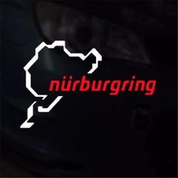 """Стикер ,,Nürburgring"""""""
